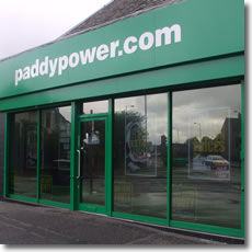 PaddyPower.com Shop Front Window
